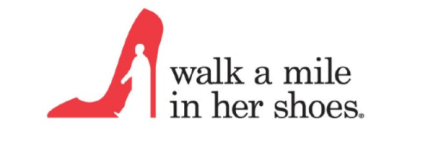 7th Annual Walk a Mile in Her Shoes registration logo
