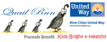 6th Annual Quail Run  registration logo
