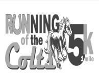 6th Annual Running of the Colts registration logo