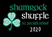 VIRTUAL 6th Annual Shamrock Shuffle 5K Run/Walk and 1K Leprechaun Chase registration logo