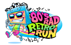 80's Rad Retro Run 5K/10K registration logo