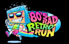 80's Rad Retro Run 5K/10K registration logo