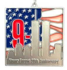 9-11 20th Anniversary 9.11 Mile - Never Forget registration logo