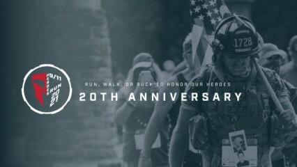 9/11 Heroes Run - Doylestown PA registration logo