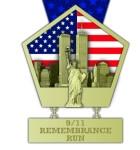 9/11 Remembrance Run International registration logo