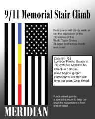 911 Stair Climb registration logo