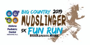 Annual Big Country Mudslinger Fun Run registration logo