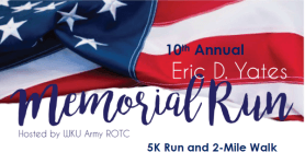 10th Annual Eric Yates Memorial Run registration logo