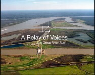 A Relay of Voices / The Great River Run registration logo