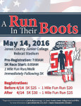 A Run In Their Boots registration logo