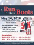 A Run In Their Boots registration logo