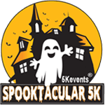 A Spooktacular 5K Run/Walk registration logo