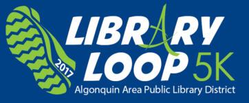 AAPLD Library Loop 5k registration logo