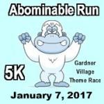 Abominable Run registration logo