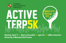 Active Terp 5K - Glow on the Greens registration logo