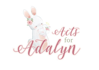 Adalyn's Angel Walk registration logo