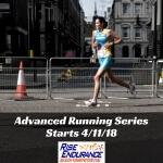Advanced Running Series registration logo
