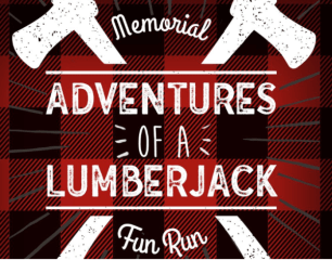 Adventures of a Lumberjack Memorial Fun Run registration logo
