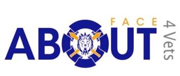 About Face 4 Vets 5k  registration logo