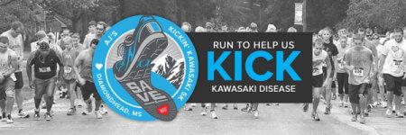 AJ's Kickin' Kawasaki 5K - Diamondhead, MS registration logo