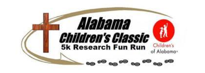Alabama Children's Classic Research Fun Run registration logo