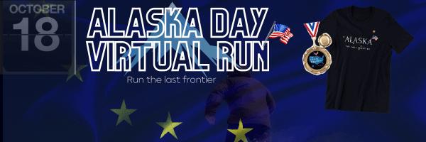 Alaska Day Virtual Race registration logo