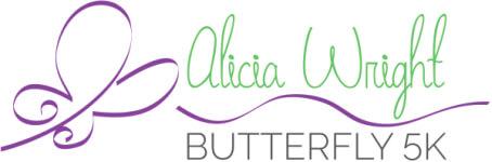 Alicia Wright Butterfly 5k registration logo
