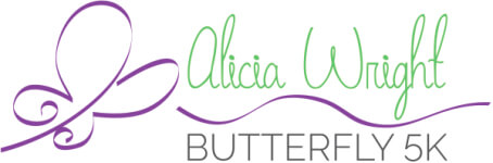 Alicia Wright Butterfly 5k registration logo