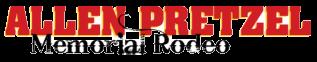 Allen Pretzel Memorial Rodeo registration logo