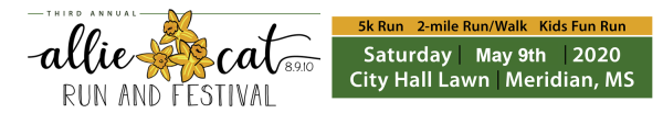 Allie Cat Run & Festival registration logo