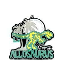 Allosaurus 1M 5K 10K 13.1 26.2 registration logo