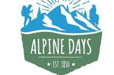 Alpine Days 5K registration logo