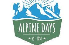 Alpine Days 5K registration logo