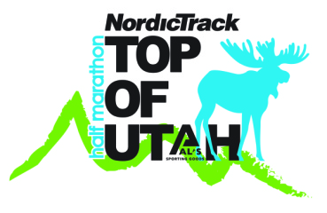 Top of Utah Half Marathon registration logo