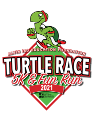 Alvin ISD Education Foundation Turtle Race 5K & Kids 1K Family Fun Run registration logo