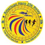 American Hero 25K Relay registration logo