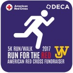 American Red Cross Run for the Red 5K registration logo