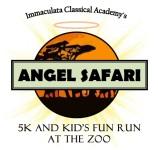 Angel Safari 5K and Kid's Fun Run registration logo