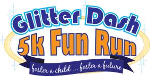 Glitter Dash 5K Fun Run  registration logo