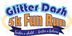 Glitter Dash 5K Fun Run  registration logo