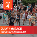 Angie Gioiosa 4th of July Memorial Race registration logo