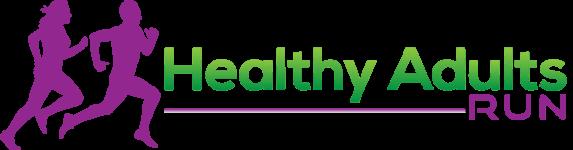 Annual Healthy Adults Run registration logo
