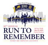 Annual Police Officers & Firefighter Memorial 5k - Run to Remember registration logo
