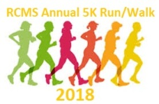 Annual RCMS 5K registration logo