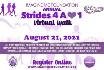 Annual Strides 4 A Loved One Virtual Walk registration logo