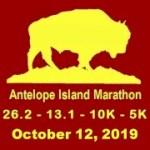 Antelope Island Marathon - 26.2, 13.1, 10K, 5K registration logo