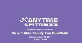 Anytime Fitness Thurmont 5K registration logo