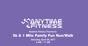 Anytime Fitness Thurmont 5K registration logo
