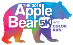 AppleBear 5K & Color Run registration logo