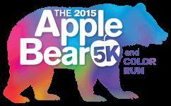 AppleBear 5K & Color Run registration logo
